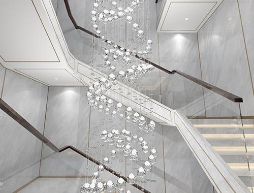 别墅楼梯设计装修