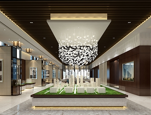 销售楼大厅设计